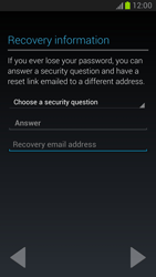Samsung Galaxy Note II - Applications - Setting up the application store - Step 9