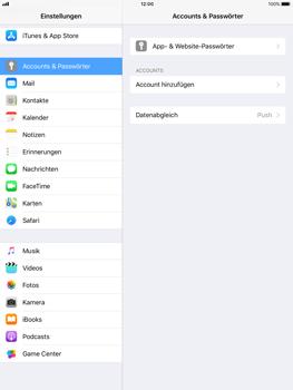 Apple iPad mini Retina mit iOS 11 - E-Mail - Konto einrichten - Schritt 4