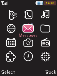 Samsung S5050 Allure S - Voicemail - Manual configuration - Step 3