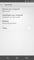 Sony E2003 Xperia E4G - voicemail - handmatig instellen - stap 6