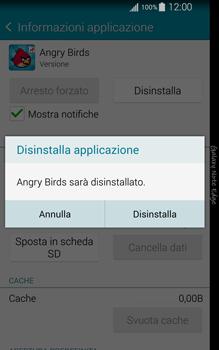 Samsung Galaxy Note Edge - Applicazioni - Come disinstallare un
