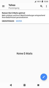 Sony Xperia XZ2 Premium - E-Mail - Konto einrichten (yahoo) - Schritt 13