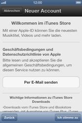 Apple iPhone 3GS - Apps - Einrichten des App Stores - Schritt 6