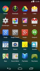 LG Google Nexus 5 - Ausland - Im Ausland surfen – Datenroaming - 5 / 12