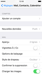Apple iPhone 5 iOS 9 - E-mail - 032c. Email wizard - Outlook - Étape 4