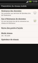 HTC One SV - Réseau - Sélection manuelle du réseau - Étape 5