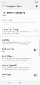Samsung Galaxy Note10 - Beveiliging - stel in of wijzig pincode voor je toestel - Stap 5