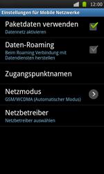 Samsung I9000 Galaxy S - MMS - Manuelle Konfiguration - Schritt 6