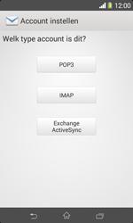 Sony D2005 Xperia E1 - E-mail - e-mail instellen: IMAP (aanbevolen) - Stap 7