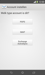 Sony D2005 Xperia E1 - E-mail - Account instellen (IMAP met SMTP-verificatie) - Stap 7