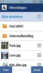 Samsung S7230E Wave TouchWiz - contacten, foto