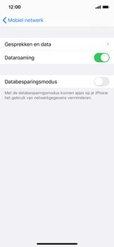 Apple iPhone X - iOS 13 - Internet - Dataroaming uitschakelen - Stap 5