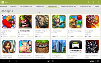 Sony Xperia Tablet Z LTE - Apps - Herunterladen - Schritt 9