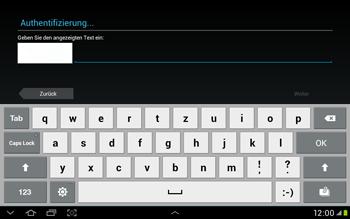 Samsung Galaxy Tab 2 10.1 - Apps - Einrichten des App Stores - Schritt 13