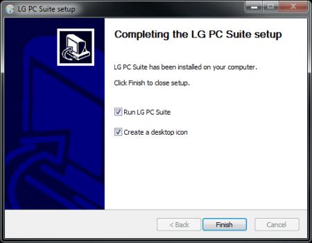 LG D955 G Flex - Software - Installing PC synchronisation software - Step 11