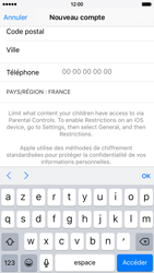 Apple iPhone 6s - Applications - Configuration de votre store d