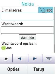 Nokia C2-03 - e-mail - handmatig instellen - stap 8