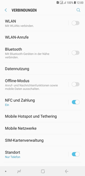 Samsung Galaxy J4+ - Ausland - Im Ausland surfen – Datenroaming - 7 / 11