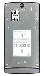 Sony Xperia S - SIM-Karte - Einlegen - Schritt 3