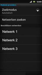 Sony ST25i Xperia U - Netwerk - gebruik in het buitenland - Stap 11
