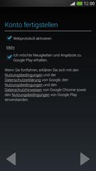 HTC One Mini - Apps - Konto anlegen und einrichten - 17 / 24