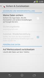 Sony Xperia Z1 Compact - Fehlerbehebung - Handy zurücksetzen - 7 / 11