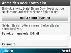 Nokia E71 - Apps - Konto anlegen und einrichten - Schritt 17