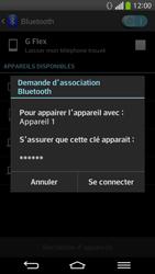 LG D955 G Flex - Bluetooth - Jumelage d