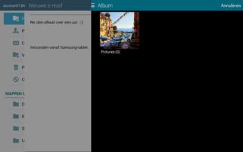 Samsung T805 Galaxy Tab S - E-mail - E-mails verzenden - Stap 14