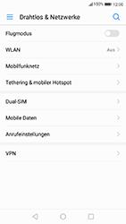 Huawei P10 - Anrufe - Rufumleitungen setzen und löschen - 4 / 9
