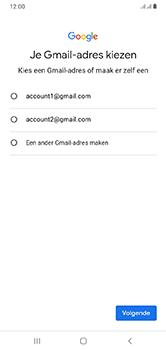 Samsung Galaxy A10 - apps - account instellen - stap 10