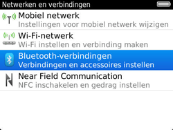 BlackBerry 9360 Curve - bluetooth - aanzetten - stap 5