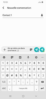 Samsung Galaxy A20e - Contact, Appels, SMS/MMS - Envoyer un SMS - Étape 10
