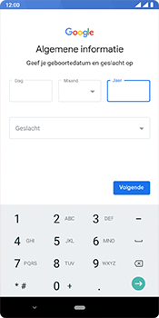 Nokia 3.1 Plus - Android Pie - apps - account instellen - stap 9