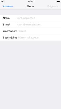 Apple iPhone 8 Plus - iOS 12 - E-mail - Account instellen (POP3 zonder SMTP-verificatie) - Stap 7