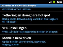 Samsung B5510 Galaxy TXT - netwerk en bereik - gebruik in binnen- en buitenland - stap 5