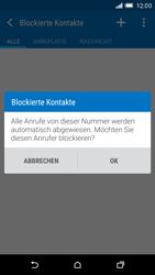 HTC One M9 - Anrufe - Anrufe blockieren - Schritt 11