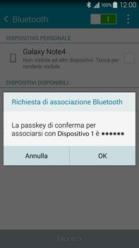 Samsung Galaxy Note 4 - Bluetooth - Collegamento dei dispositivi - Fase 8