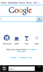 Nokia Lumia 800 - Internet - Hoe te internetten - Stap 8