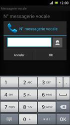 Sony ST26i Xperia J - Messagerie vocale - configuration manuelle - Étape 8