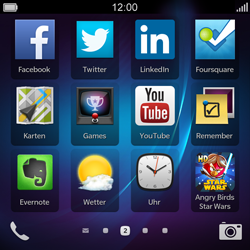 BlackBerry Q5 - Apps - Herunterladen - 25 / 25