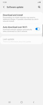 Samsung Galaxy Z flip - Software - Installing software updates - Step 5