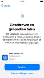 Apple iphone-se-met-ios-13-model-a1723 - Instellingen aanpassen - Nieuw toestel instellen - Stap 8