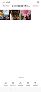 Oppo A9 2020 - Photos, vidéos, musique - Envoyer une photo via Bluetooth - Étape 10