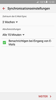 Samsung Galaxy A8 - E-Mail - 032b. Email wizard - Yahoo - Schritt 7