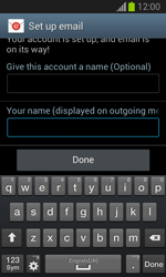 Samsung S7390 Galaxy Trend Lite - E-mail - Manual configuration IMAP without SMTP verification - Step 20