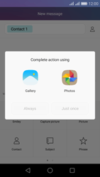 Huawei Honor 5X - MMS - Sending pictures - Step 13