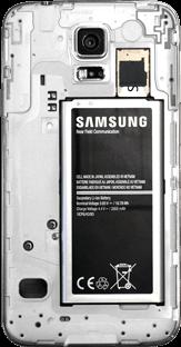 Samsung G903F Galaxy S5 Neo - SIM-Karte - Einlegen - Schritt 6