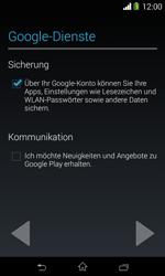 Sony Xperia E1 - Apps - Konto anlegen und einrichten - 15 / 23