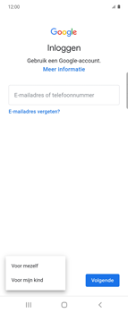 Samsung Galaxy Z Flip Single-SIM + eSIM (SM-F700F) - Applicaties - Account aanmaken - Stap 6